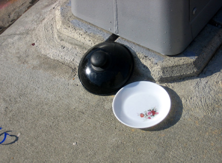 Missing lid