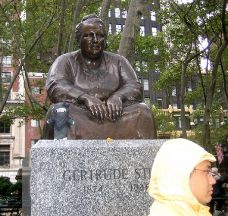 JK with Gertrude Stein