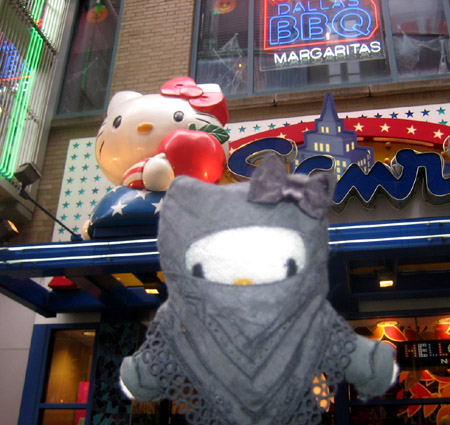 JK at Sanrio NYC