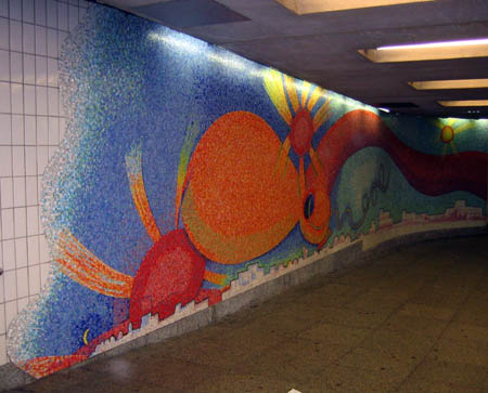 Elizabeth Murray Mural, 23rd Street and Ely Avenue