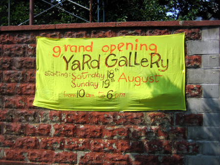 Yard Gallery Sign