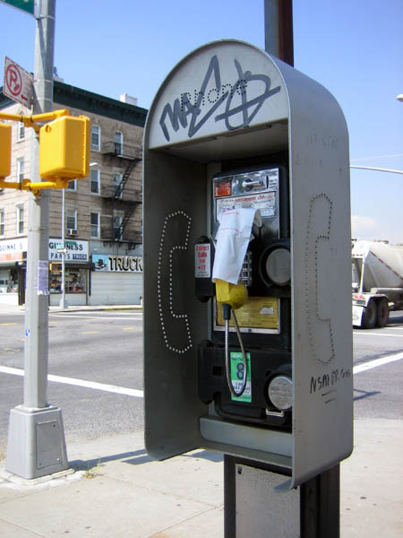 McGuinness Boulevard Pay Phone