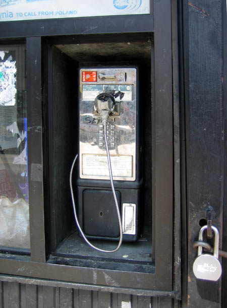 Nassau Avenue Pay Phone
