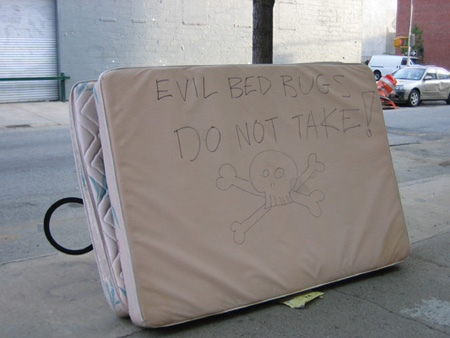 Evil Mattress at 97 Green Street