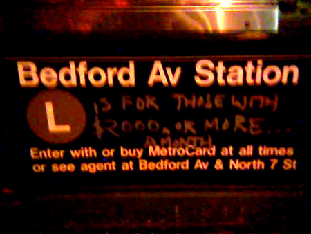 Bedford Avenue Is…