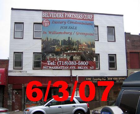 609 Manhattan Avenue 6/3/07