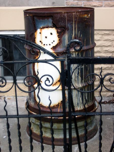 Engert Avenue Snowman