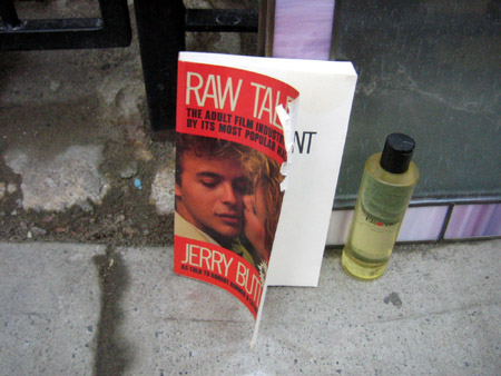 Raw Talent and Massage Oil