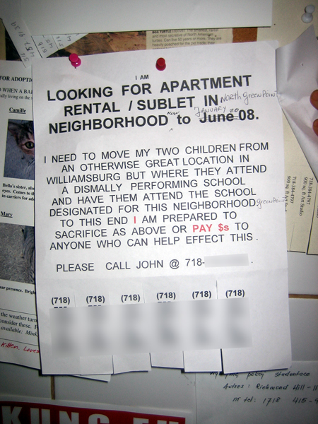 Looking for an apartment…