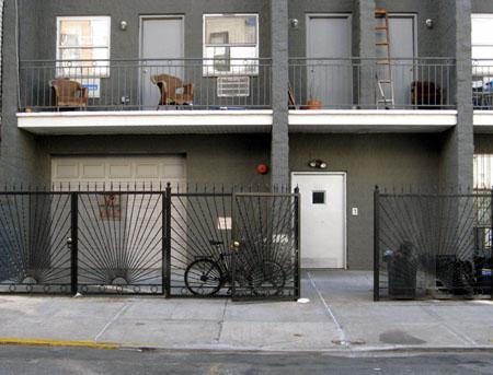 58 Ten Eyck fence