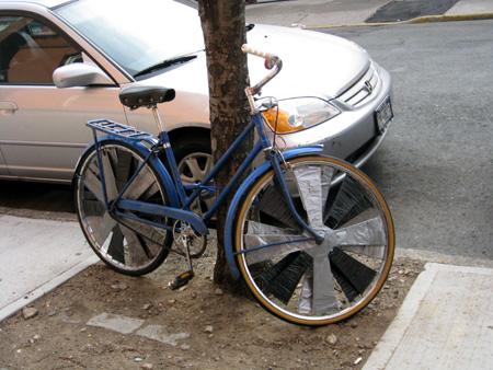 Duct Tape Bike