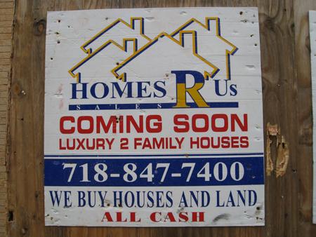 Homes 'R' Us