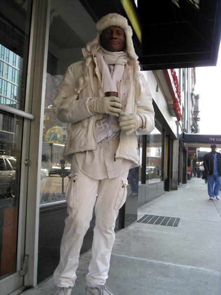 Man on Third Avenue