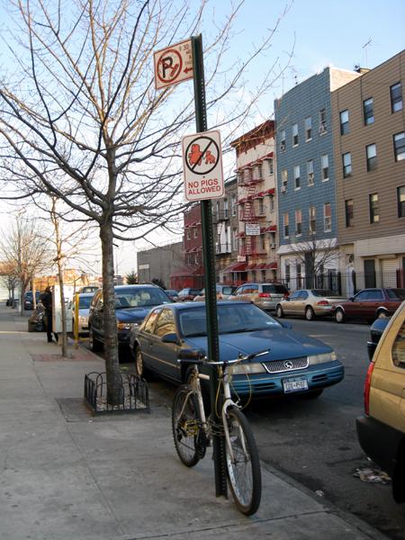Montrose Avenue Sign