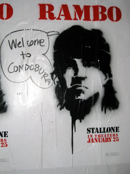 Rambo says Williamsburg sucks