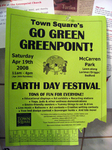 Go Green Greenpoint!