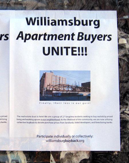 Williamsburg Buyers Unite!