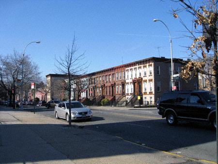 BUshwick Avenue at Menahan Street