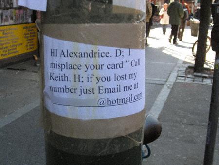 Call Keith