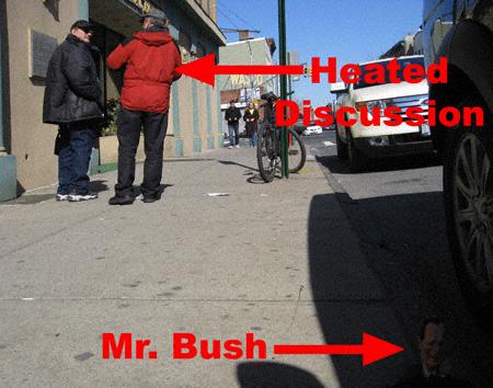Poles and Bush