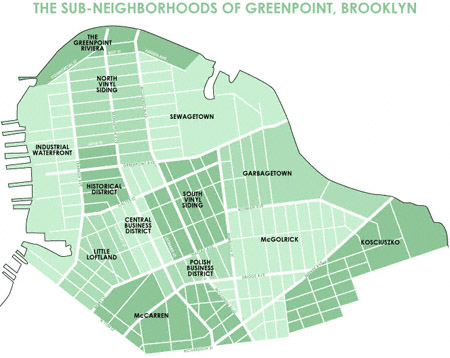 Greenpoint Brooklyn Map | World Map 07