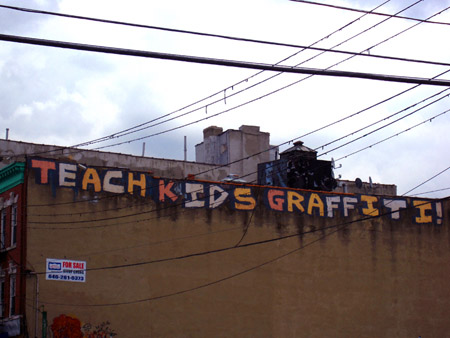 Teach Kids GraffitiNYS