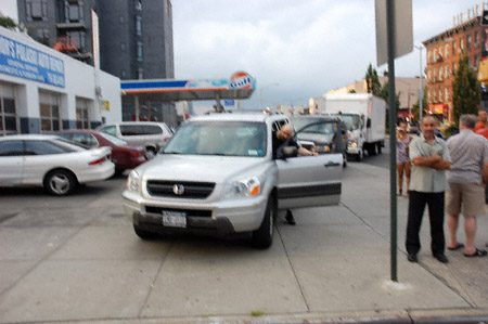 motorhead threatening pedestriansNYS