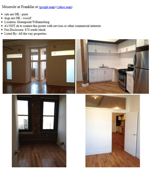 New York Apartments For Rent Craigslist: From The New York Shitty Inbox: Apartments For Rent At 239