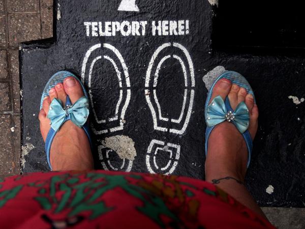 Teleport Here