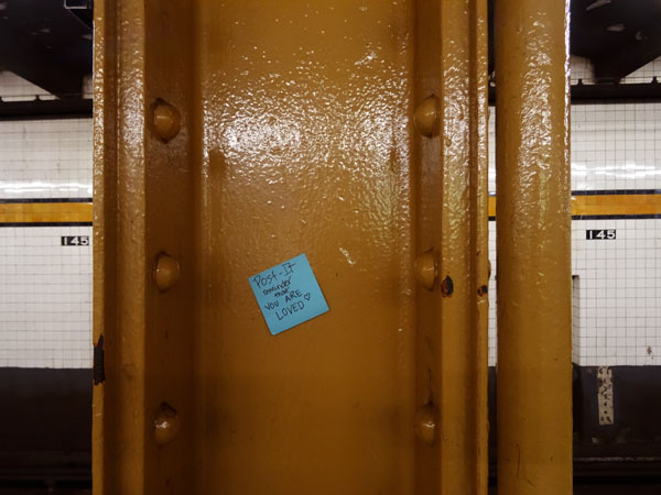 145th Street Post It nys