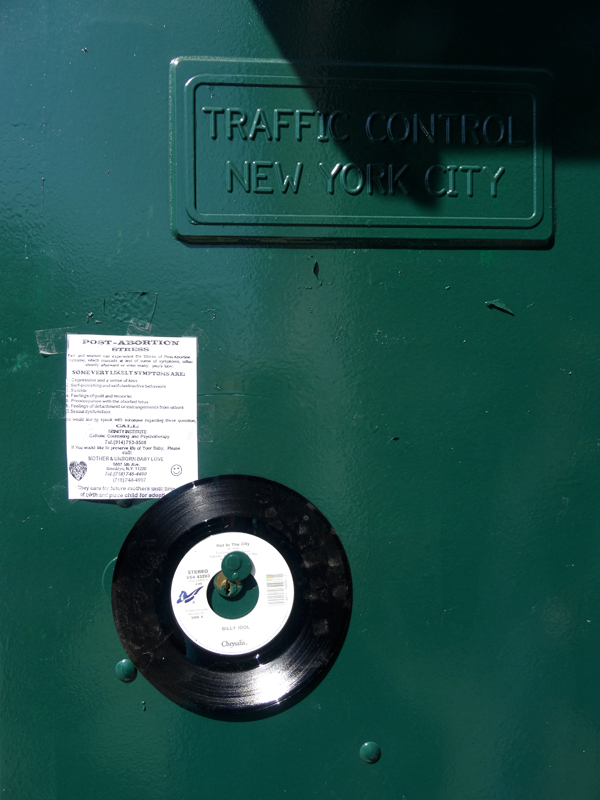 Traffic Control Box with 45 nys